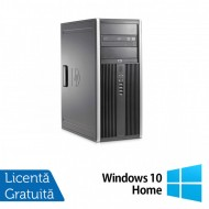 Calculator HP 8200 Tower, Intel Core i3-2100 3.10GHz, 8GB DDR3, 500GB SATA, GeForce GT210 512MB DDR3, DVD-ROM + Windows 10 Home (Top Sale!)