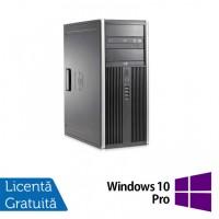 Calculator HP 8200 Tower, Intel Core i5-2400 3.10GHz, 4GB DDR3, 250GB SATA, DVD-ROM + Windows 10 Pro (Top Sale!)