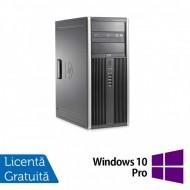 Calculator HP 8200 Tower, Intel Core i3-2100 3.10GHz, 8GB DDR3, 500GB SATA, DVD-ROM + Windows 10 Pro (Top Sale!)