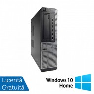 Calculator DELL OptiPlex 7010 Desktop, Intel Core i7-3770 3.40GHz, 4GB DDR3, 250GB SATA, DVD-ROM + Windows 10 Home
