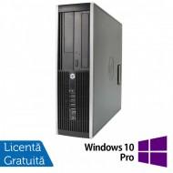Calculator HP Compaq 6200 Pro SFF, Intel Celeron G530 2.40GHz, 4GB DDR3, 250GB SATA, DVD-RW + Windows 10 Pro