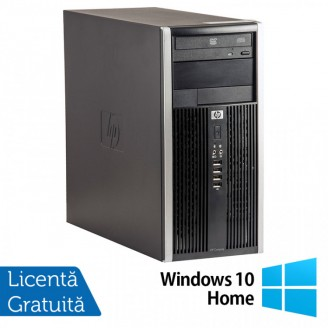 Calculator HP 6200 Tower, Intel Core i3-2100 3.10GHz, 8GB DDR3, 500GB SATA, GeForce GT210 512MB DDR3, DVD-ROM + Windows 10 Home (Top Sale!)