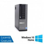 Calculator DELL OptiPlex 9020 SFF, Intel Core Pentium G3220 3.00GHz, 4GB DDR3, 250GB SATA, DVD-ROM + Windows 10 Home