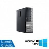 Calculator Dell 990 SFF, Intel Core i5-2400 3.10GHz, 4GB DDR3, 250GB SATA + Windows 10 Home