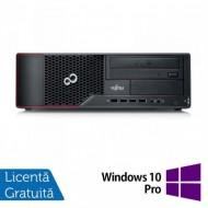 Calculator Fujitsu Siemens E710 SFF, Intel Core i3-3220 3.30GHz, 4GB DDR3, 250GB SATA, DVD-ROM + Windows 10 Pro