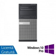 Calculator DELL Optiplex 9020 Tower, Intel Core i7-4770 3.40GHz, 8GB DDR3, 500GB SATA, DVD-ROM + Windows 10 Pro