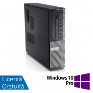 Calculator DELL GX790 Desktop, Intel Core i3-2100 3.10 GHz, 4GB DDR3, 500GB SATA, DVD-ROM + Windows 10 Pro