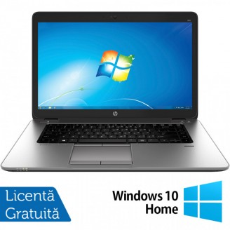 Laptop HP EliteBook 850 G1, Intel Core i7-4600U 2.10GHz, 8GB DDR3, 120GB SSD, Webcam, 15.6 Inch + Windows 10 Home